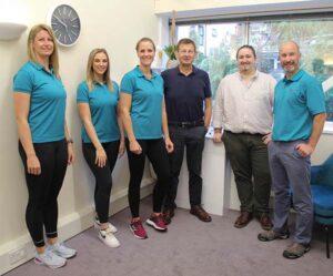 GW Osteopathy team photo