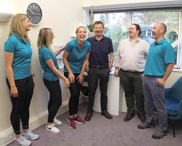 GW Osteopathy team